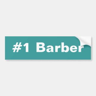 Adhésif pour pare-chocs du coiffeur #1 autocollant pour voiture
