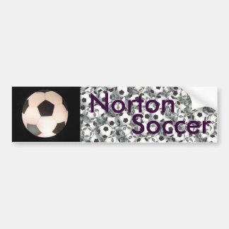 Adhésif pour pare-chocs du football de Norton Autocollant De Voiture