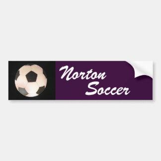 Adhésif pour pare-chocs du football de Norton Autocollant Pour Voiture