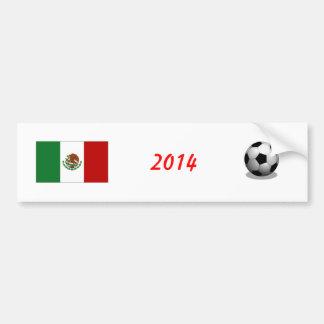 Adhésif pour pare-chocs du football du Mexique Autocollant De Voiture