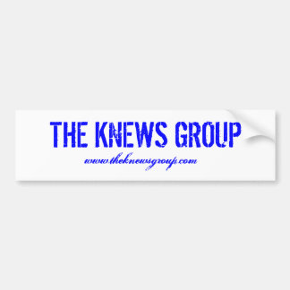 """""""Adhésif pour pare-chocs du groupe de Knews"""" Autocollant De Voiture"""