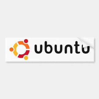 Adhésif pour pare-chocs d'Ubuntu Autocollant De Voiture