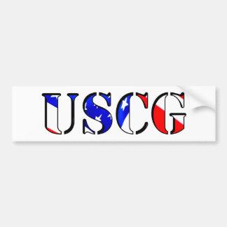 Adhésif pour pare-chocs d'USCG Autocollant Pour Voiture