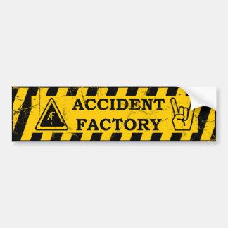 Adhésif pour pare-chocs d'usine d'accidents autocollant pour voiture