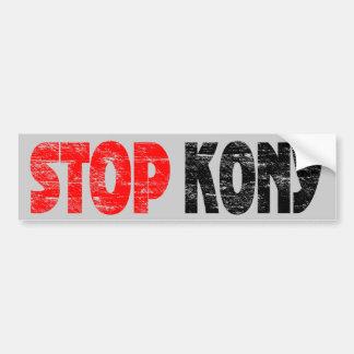 Adhésif pour pare-chocs fané de Kony d'arrêt Autocollant De Voiture