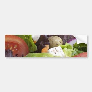 Adhésif pour pare-chocs frais de salade autocollant de voiture