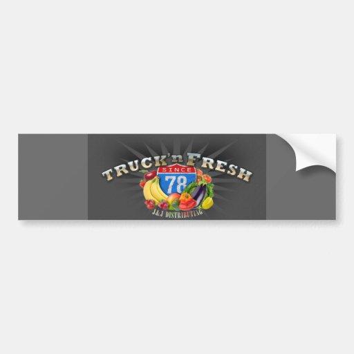 Adhésif pour pare-chocs frais du camion N Autocollant Pour Voiture