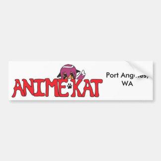 Adhésif pour pare-chocs : Logo de l'Anime KAT avec Autocollant De Voiture