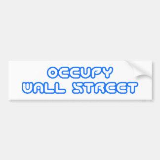 """Adhésif pour pare-chocs """"occupez Wall Street"""" Autocollant De Voiture"""