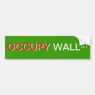 Adhésif pour pare-chocs occupez Wall Street Autocollants Pour Voiture