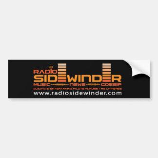 Adhésif pour pare-chocs par radio de Sidewinder Autocollant De Voiture