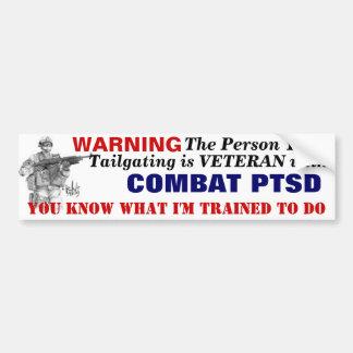 Adhésif pour pare-chocs PTSD Autocollant Pour Voiture