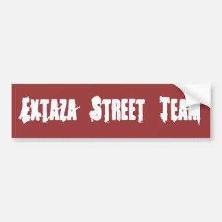 Adhésif pour pare-chocs rouge d'équipe de rue d'Ex Autocollant De Voiture