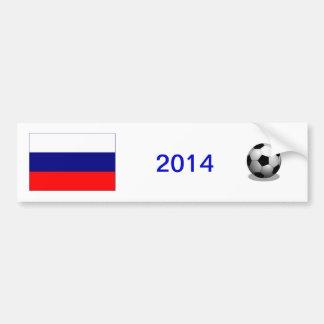 Adhésif pour pare-chocs russe du football autocollant de voiture