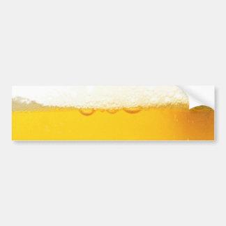 Adhésif pour pare-chocs savoureux frais de bière autocollant de voiture
