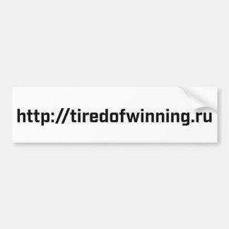 Adhésif pour pare-chocs - tiredofwinning.ru autocollant pour voiture