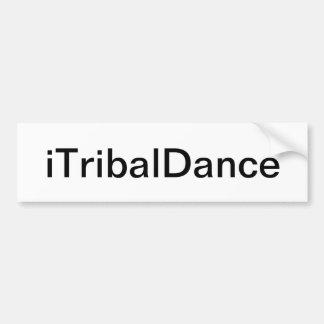 Adhésif pour pare-chocs tribal de danse autocollant de voiture