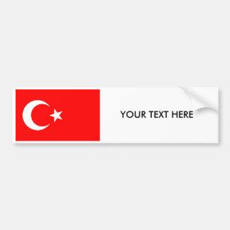 Adhésif pour pare-chocs turc de DRAPEAU Autocollant De Voiture