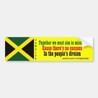 Adhésifs pour pare-chocs de la Jamaïque de l'unité Autocollant Pour Voiture