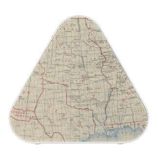 Adhésions 1 du territoire 2 haut-parleur bluetooth