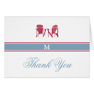 Adirondack préside la carte de note de Merci