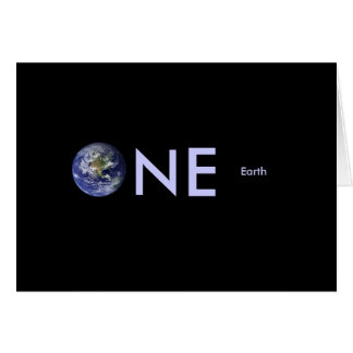 Administrateurs de la terre de planète : cartes de vœux
