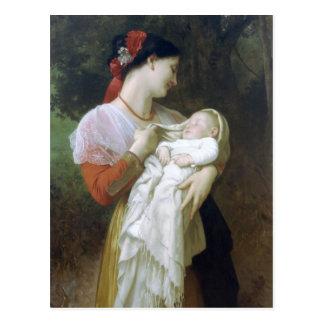 Admiration maternelle par William Adolphe Carte Postale
