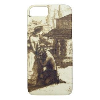 Admis, 1853 (stylo et encre brune sur le papier) coque iPhone 7