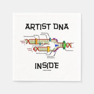 ADN d'artiste à l'intérieur de reproduction d'ADN Serviettes Jetables