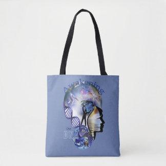 ADN réveillant la conception Tote Bag