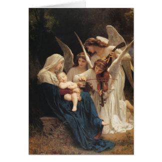Adolphe-William Bouguereau. Chanson des anges Cartes