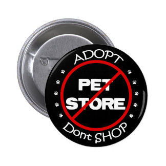 Adopt ne font pas des emplettes bouton badge rond 5 cm