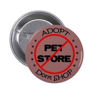Adopt ne font pas des emplettes bouton badges