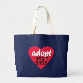 Adopt ne font pas des emplettes grand sac
