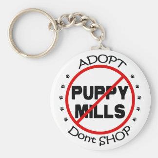 Adopt ne font pas des emplettes porte - clé porte-clé rond