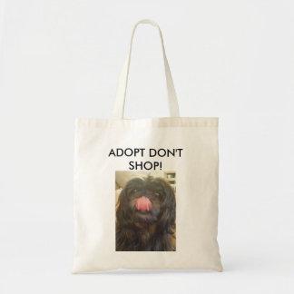 Adopt ne font pas des emplettes sac fourre-tout