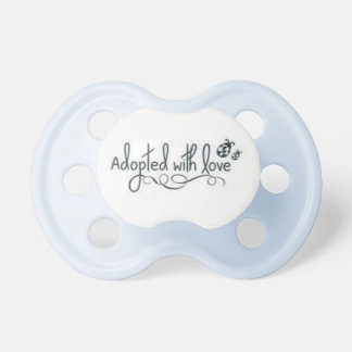 Adopté avec amour ! tétines