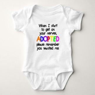Adopté vous m'a voulu t-shirt