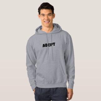 Adoptez le sweat - shirt à capuche des hommes