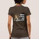 Adoptez un T-shirt (arrière) égaré