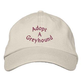 Adoptez une casquette de baseball brodée par lévri
