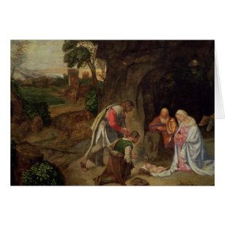 Adoration des bergers, 1510 cartes