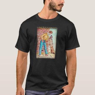 Adoucissez et en coulant - perfectionnez pour t-shirt