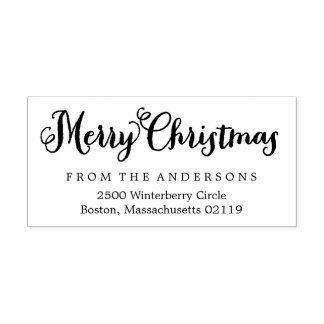 Adresse de retour de Joyeux Noël