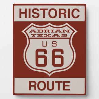 ADRIAN66 PLAQUE PHOTO