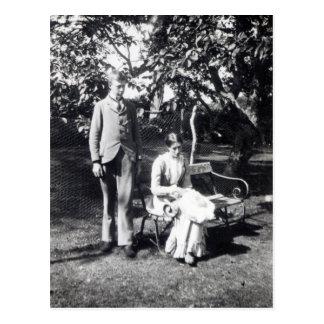 Adrian et Virginie Stephen, 1900 Cartes Postales