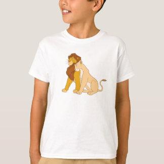Adult Simba du Roi et Nala Disney de lion T-shirt