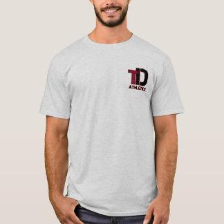 Adulte total de tee - shirt d'athlétisme de t-shirt