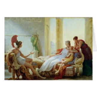 Aeneas indiquant le Dido de la catastrophe chez Carte De Vœux