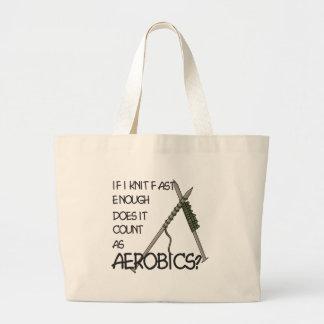 Aérobic de tricot sac
